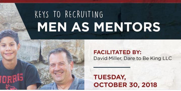 "OSI Community Fellow hosts ""Recruiting Men as Mentors"" training"