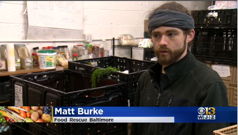 OSI Community Fellow Matt Burke on WJZ