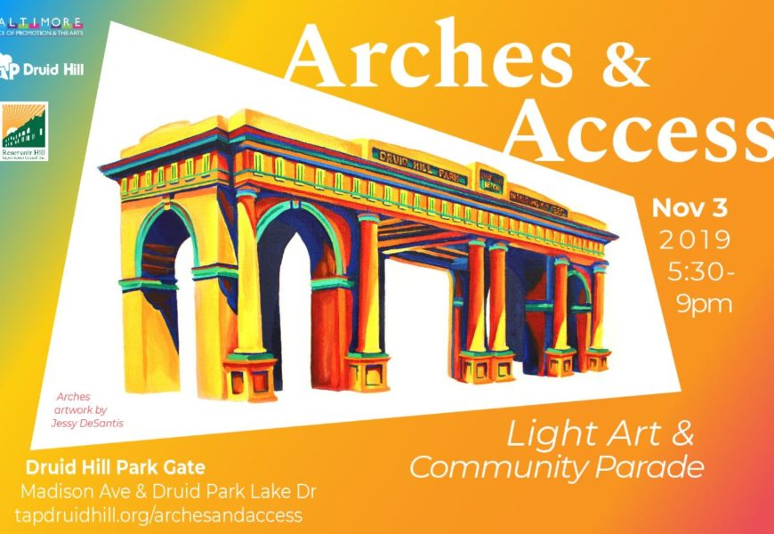 OSI Community Fellow organizing light art project in Druid Hill Park