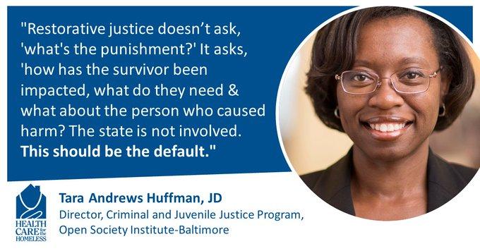 Reimagining the justice system through a restorative lens